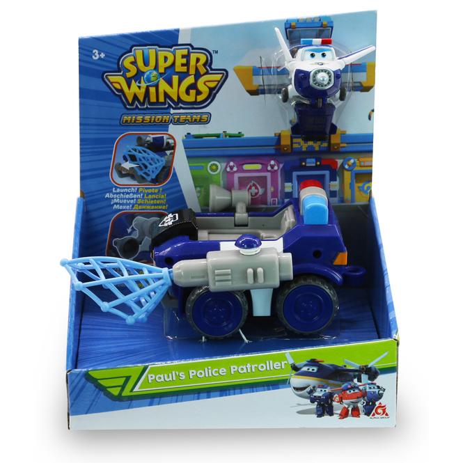 Super Wings - Spielset - Paul's Police Patroller