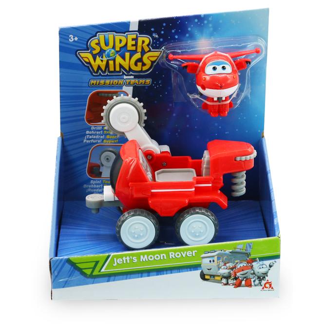 Super Wings - Spielset - Jett's Moon Rover
