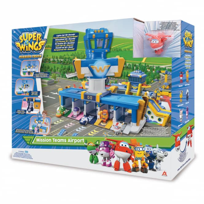 Super Wings - Spielset - Mission Teams Airport