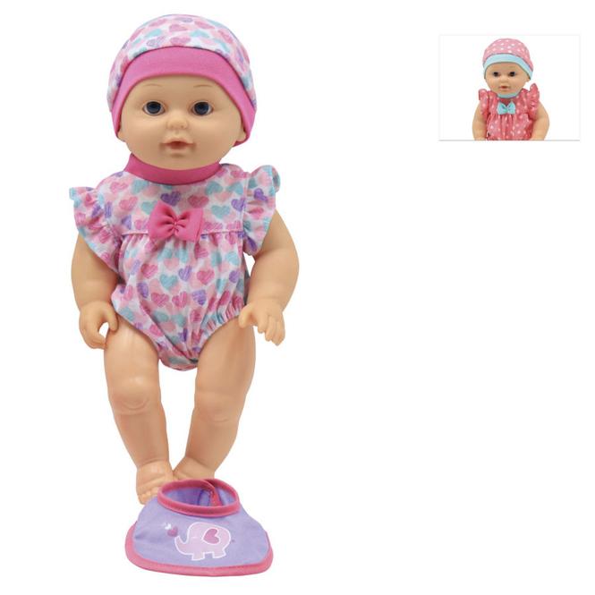 Besttoy - Babypuppe mit Funktion - 1 Stück