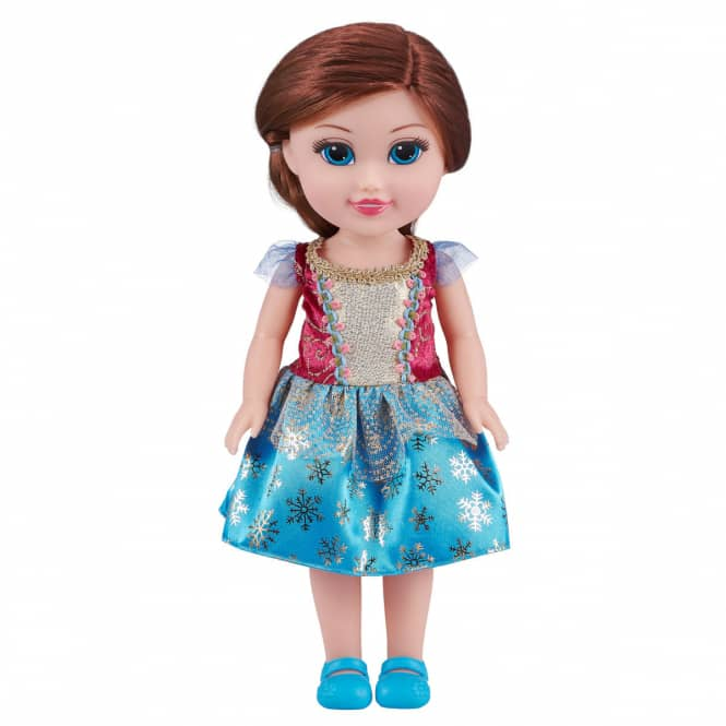 Sparkle Girlz - Modepuppe - Winterprinzessin - blau