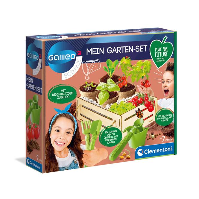 Galileo - Mein Garten-Set - Clementoni