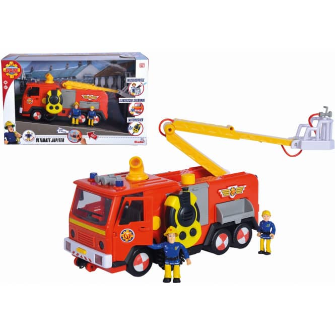 Feuerwehrmann Sam - Feuerwehrauto Ultimate Jupiter mit Figuren