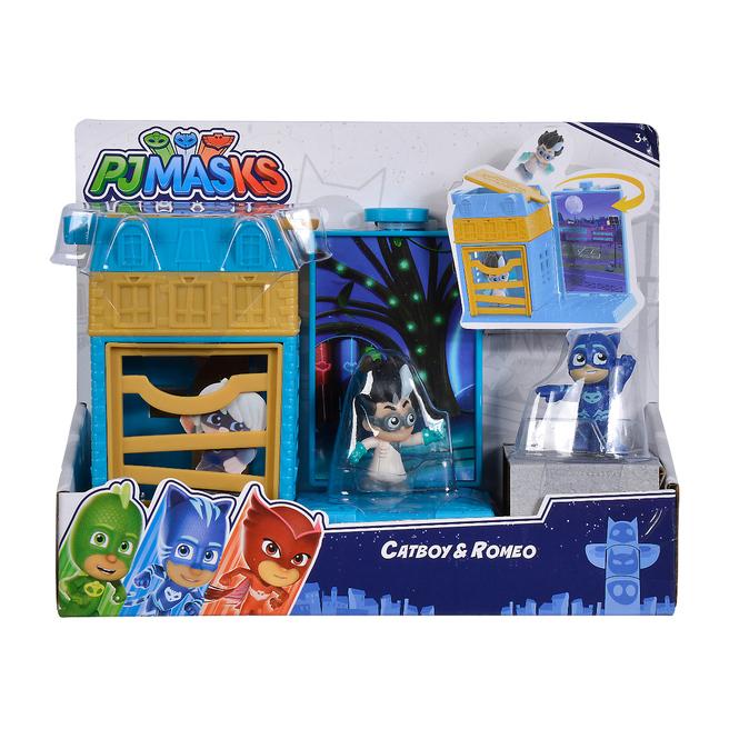 PJ Masks - Spielset Mini Action - Catboy und Romeo