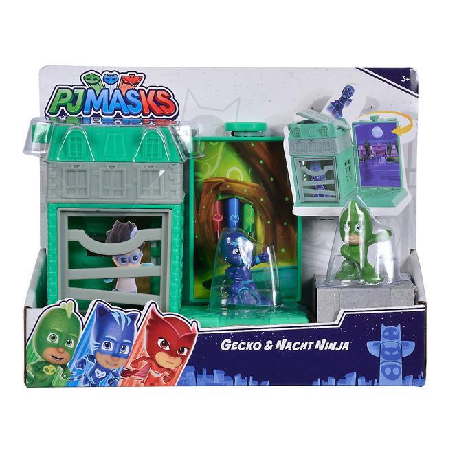 PJ Masks - Spielset Mini Action - Gecko und Nacht Ninja