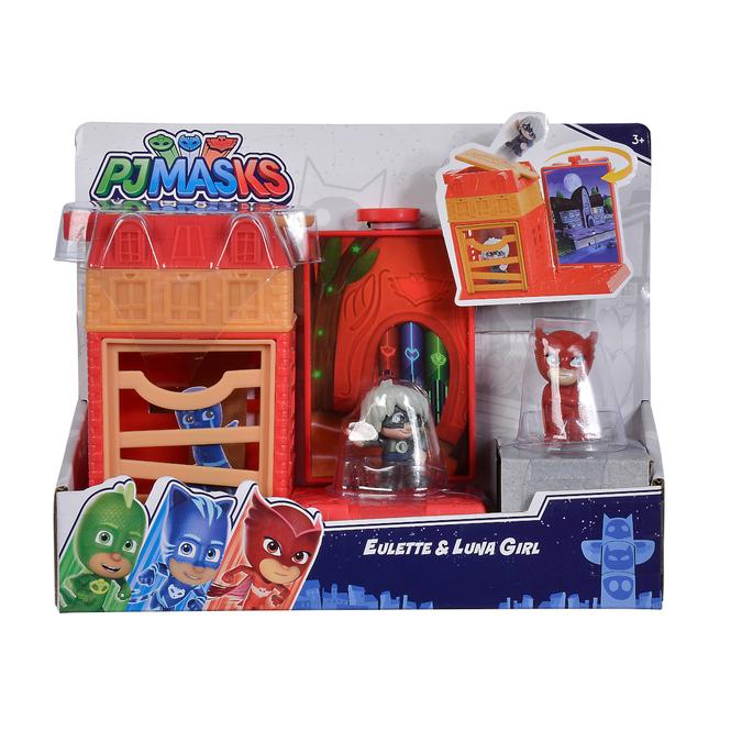 PJ Masks - Spielset Mini Action - Eulette und Luna Girl