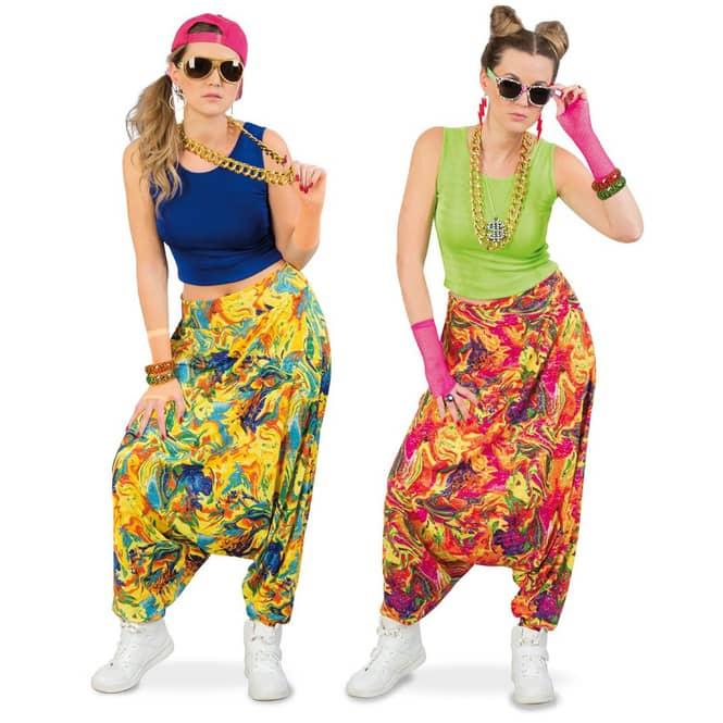 Kostüm - 90er Hose - für Erwachsene - 1 Stück - verschiedene Größen
