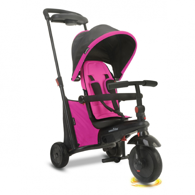 smarTrike Dreirad - Folding Trike 500 - pink