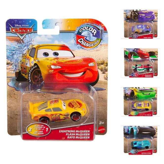 Cars - Farbwechsel-Fahrzeug - 1 Stück
