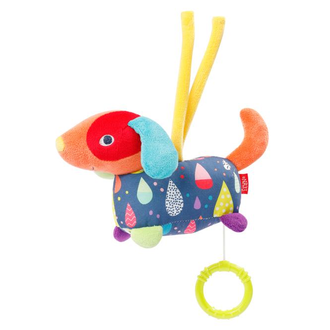 Fehn - Mini-Spieluhr Hund - Color Friends