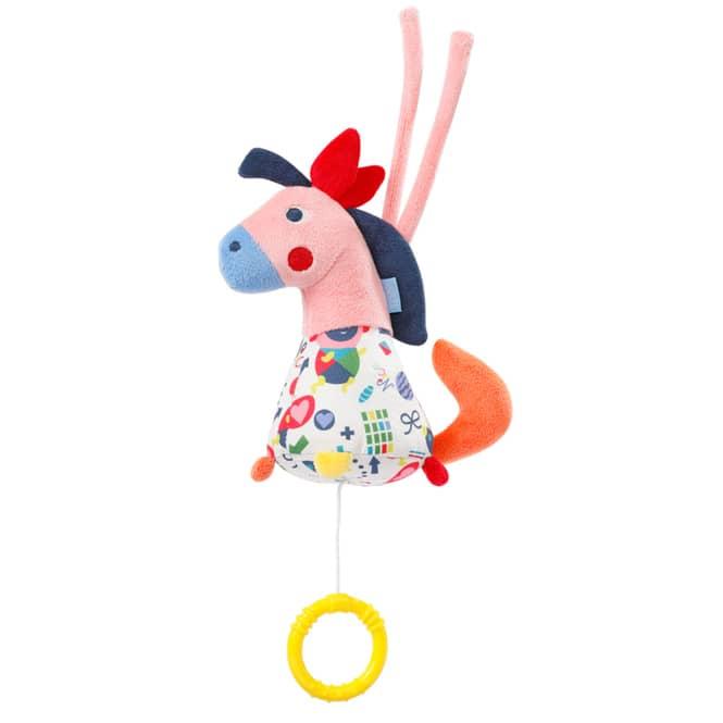 Fehn - Mini-Spieluhr Pferd - Color Friends