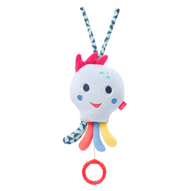 Fehn - Spieluhr - Oktopus - Color Friends