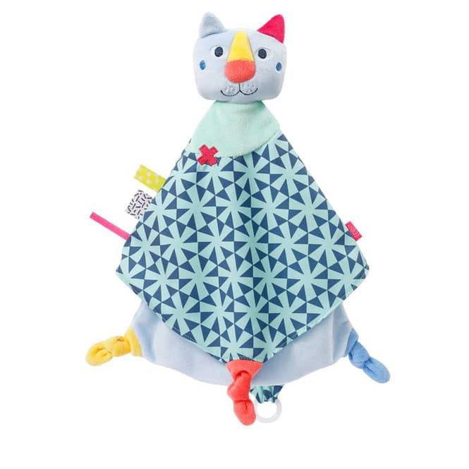 Fehn - Schmusetuch - Katze Deluxe - Color Friends