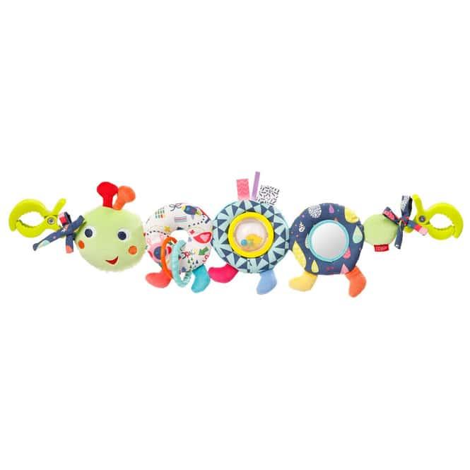 Fehn - Kinderwagenkette - Raupe - Color Friends
