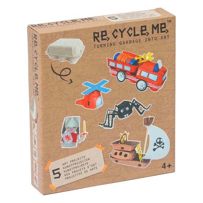 RE-CYCLE-ME™ - Basteln mit Eierkarton - Jungen
