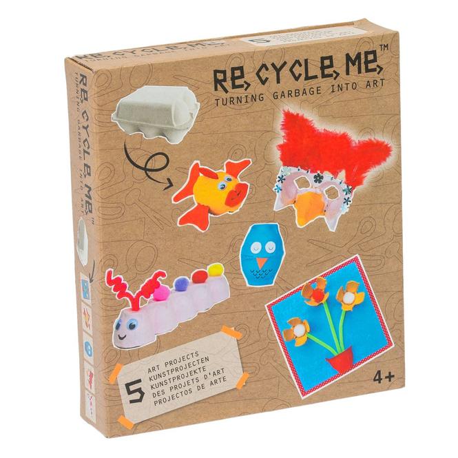 RE-CYCLE-ME™ - Basteln mit Eierkarton - Mädchen