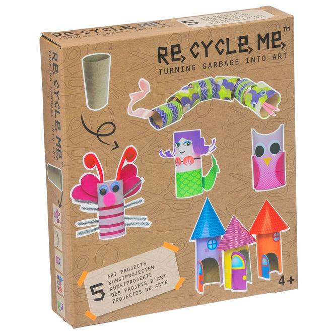 RE-CYCLE-ME™ - Basteln mit Toilettenpapierrollen - Mädchen