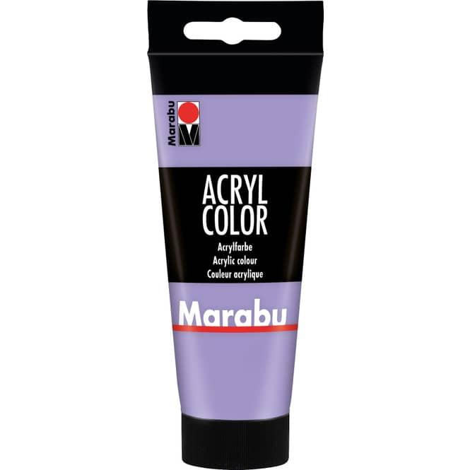 Marabu - Acryl Farbe - Lavendel - 1 Tube á 100 ml