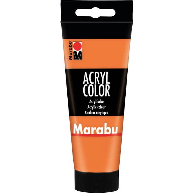 Marabu - Acryl Farbe - Orange - 1 Tube á 100 ml