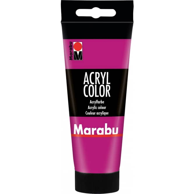 Marabu - Acryl Farbe - Magenta - 1 Tube á 100 ml
