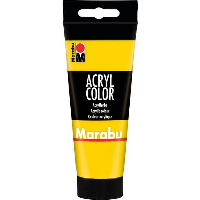 Marabu - Acryl Farbe - Gelb - 1 Tube á 100 ml