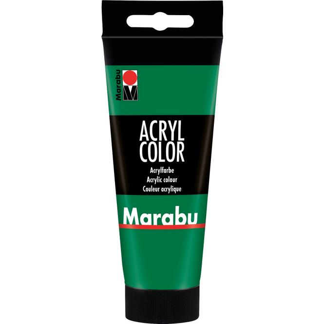 Marabu - Acryl Farbe - Saftgrün - 1 Tube á 100 ml