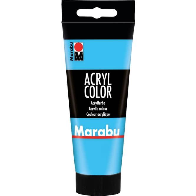 Marabu - Acryl Farbe - Hellblau - 1 Tube á 100 ml