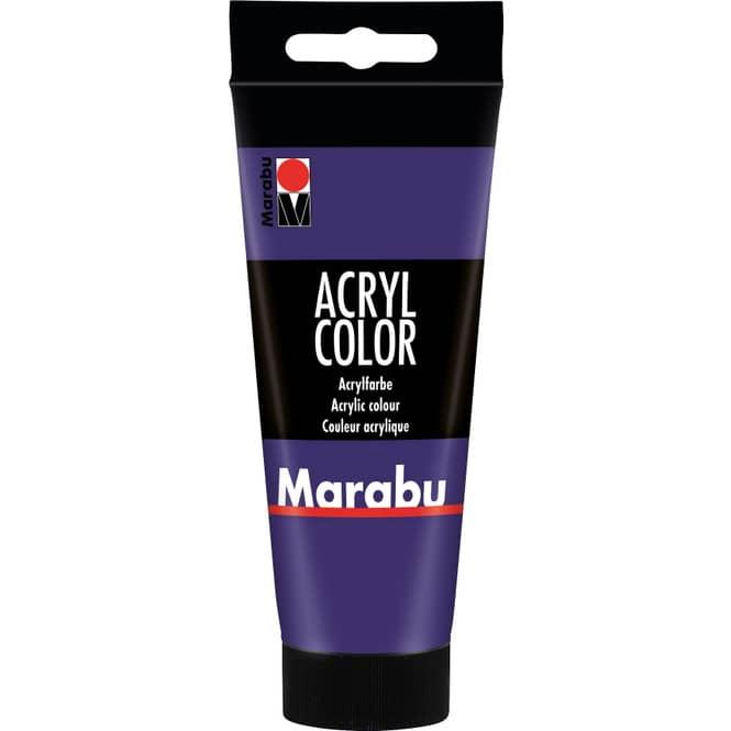 Marabu - Acryl Farbe - Violett - 1 Tube á 100 ml