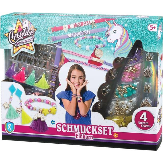 Schmuckset - Einhorn