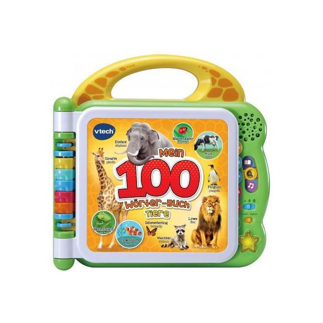 VTech - Mein 100-Wörter-Buch: Tiere