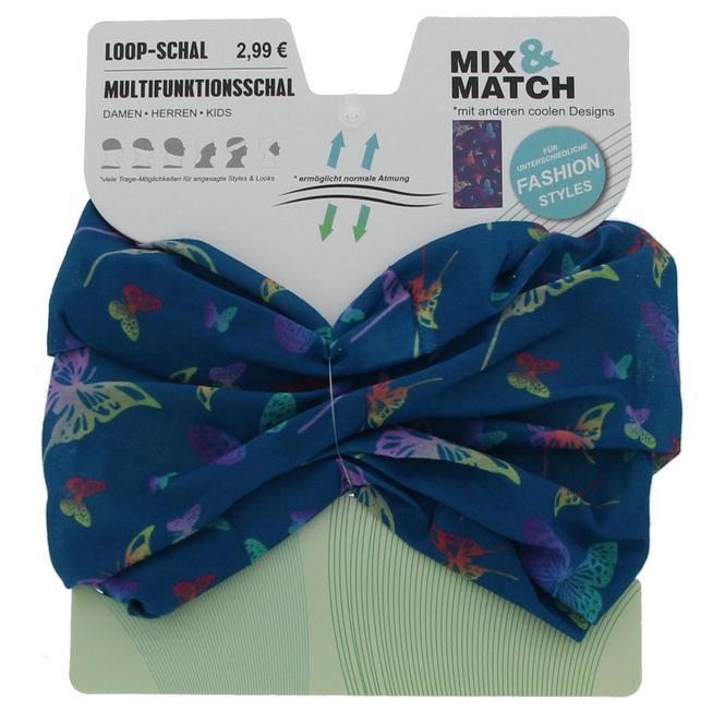 Loop Schal - Schmetterlings-Motiv - für Mädchen