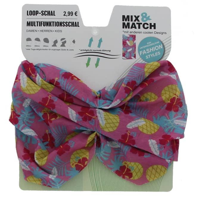 Loop Schal - Ananas-Motiv - für Mädchen