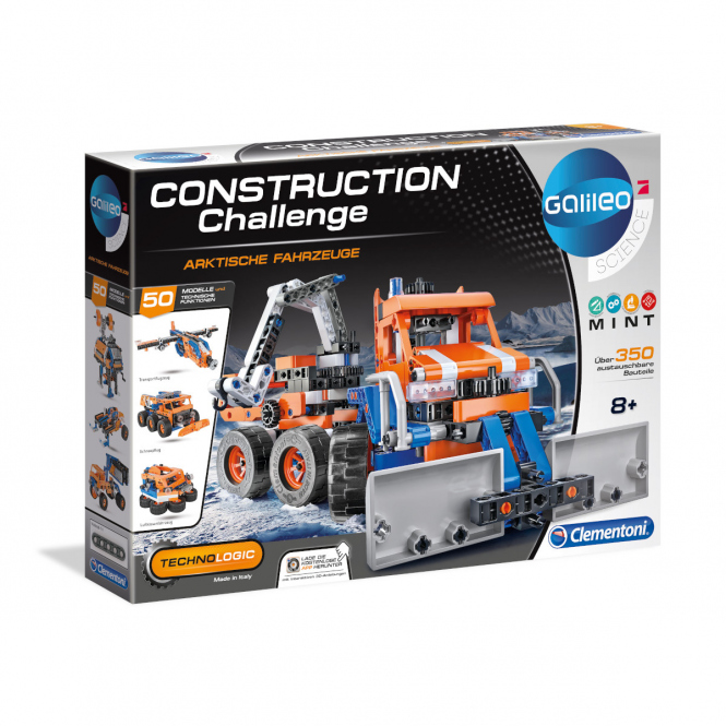 Galileo - Construction Challenge - Arktische Fahrzeuge - Clementoni