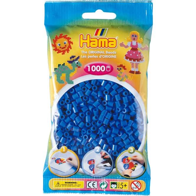Hama Bügelperlen - 1000 Perlen - hellblau