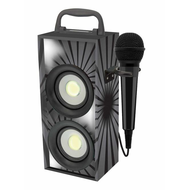 Karaokestation - schwarz