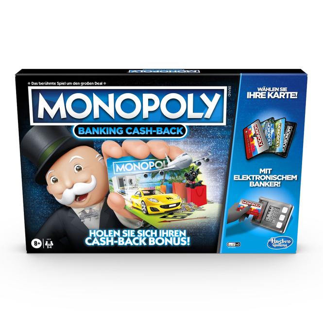 Monopoly Banking Cash-Back - Hasbro Gaming
