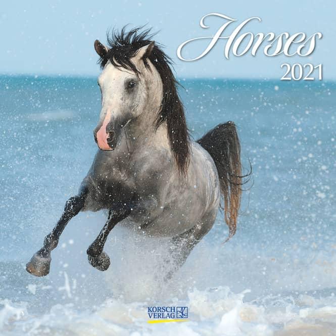 Kalender - Horses 2021