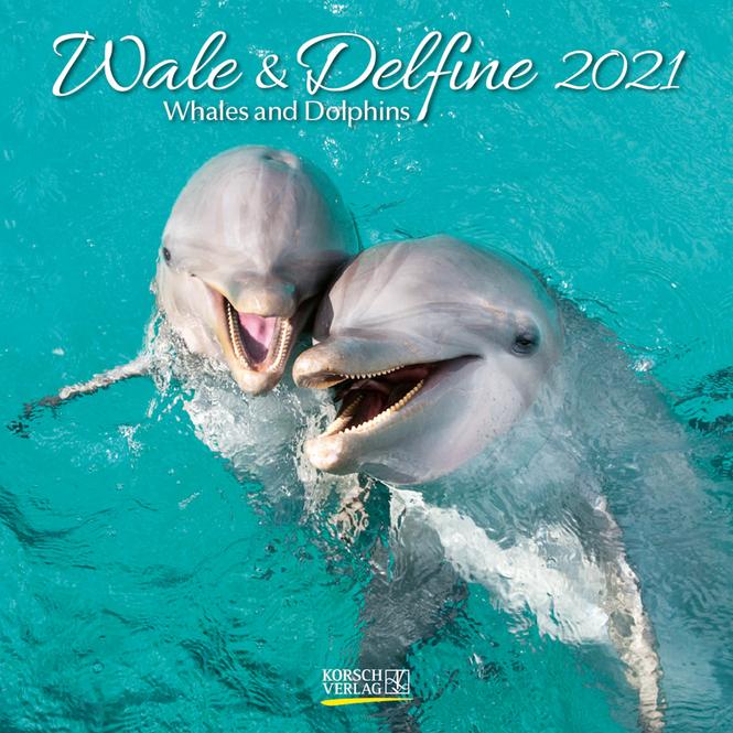 Kalender - Wale & Delfine 2021