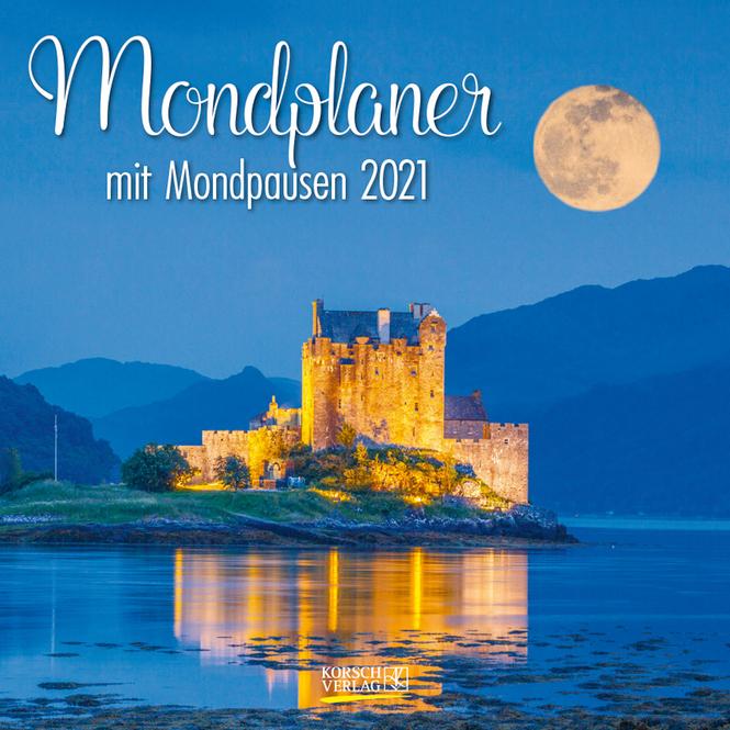 Kalender - Mondplaner 2021