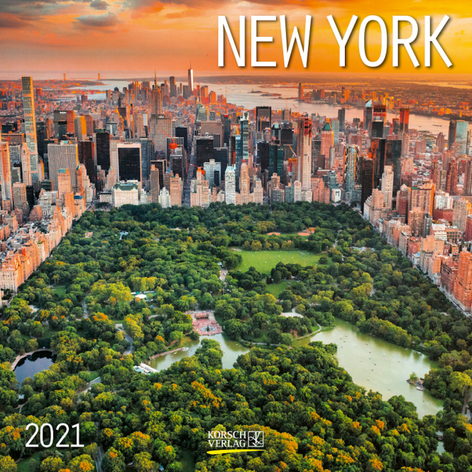 Kalender - New York 2021