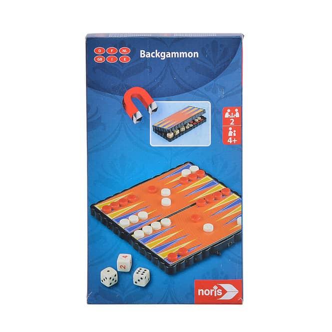 Magnet-Reisespiel - Backgammon