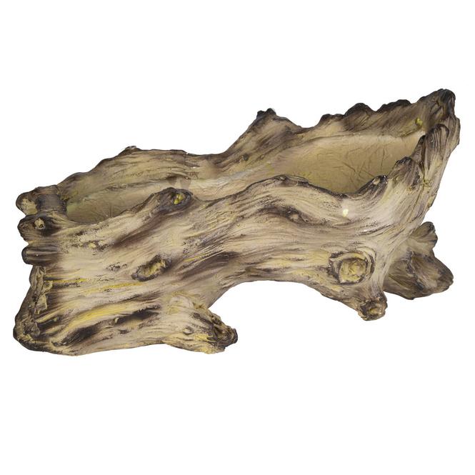 Pflanzgefäß - Baumstamm - aus Magnesia - ca. 22 x 47 x 23 cm