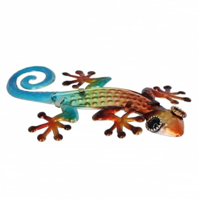 Wanddeko - Gecko - ca. 10 x 1 x 15,5 cm