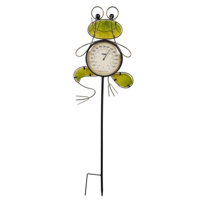 Pflanzenstecker - Frosch - ca. 26 x 4 x 85 cm