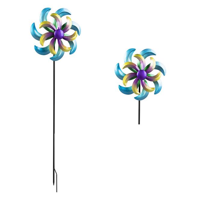 Pflanzenstecker - Windrad - ca. 23,5 x 8,5 x 92 cm