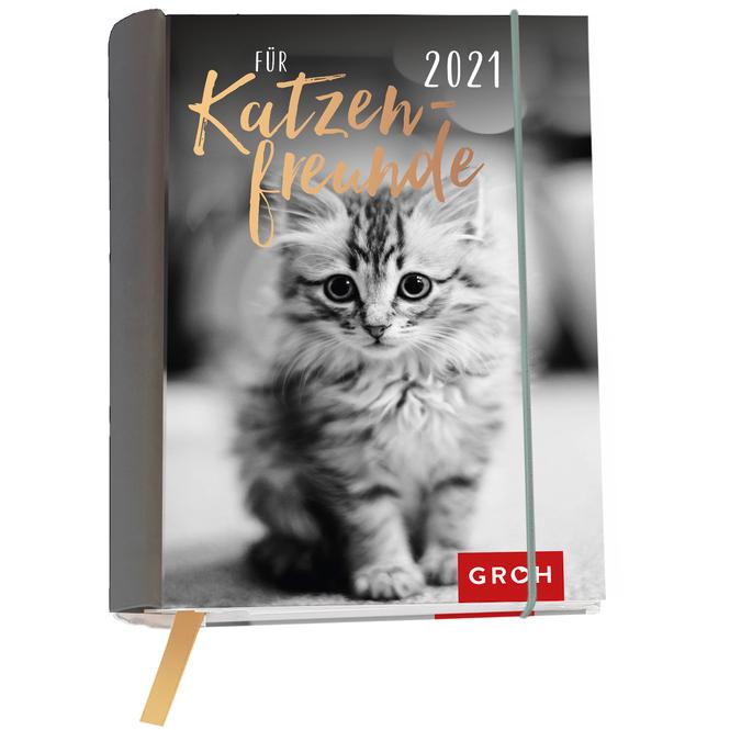 Buchkalender - Katzenfreunde - 2021