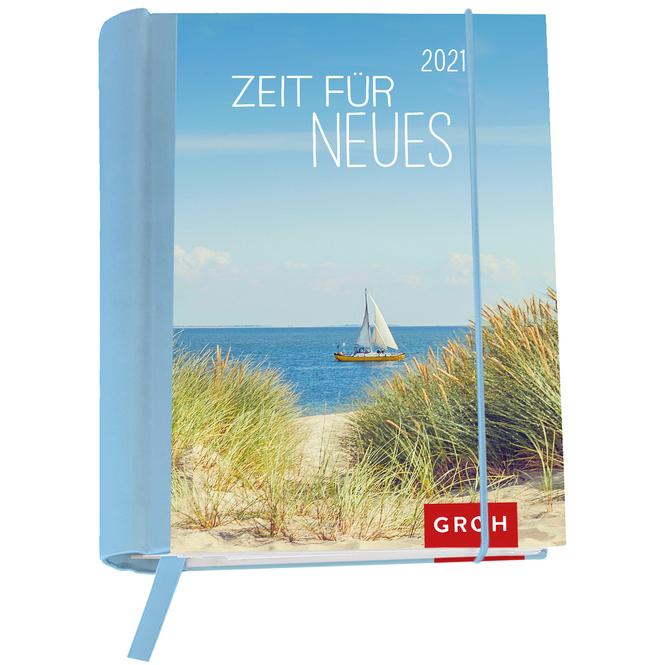 Buchkalender - Zeit für Neues - 2021