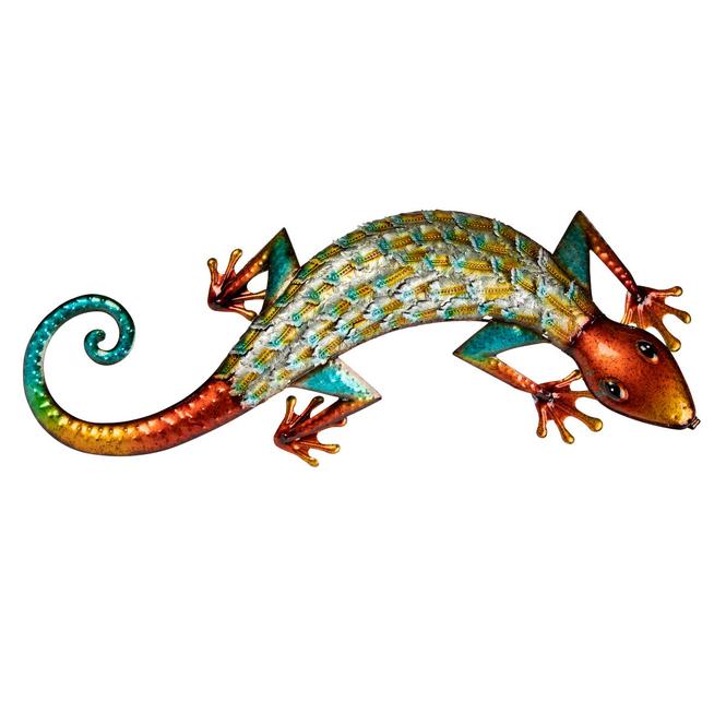 Wanddeko - Gecko - ca. 70 x 8 x 26 cm