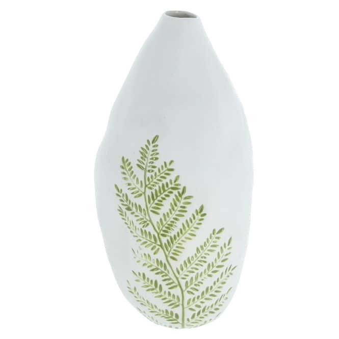 Vase - aus Keramik - ca. 12,5 x 10,5 x 25 cm
