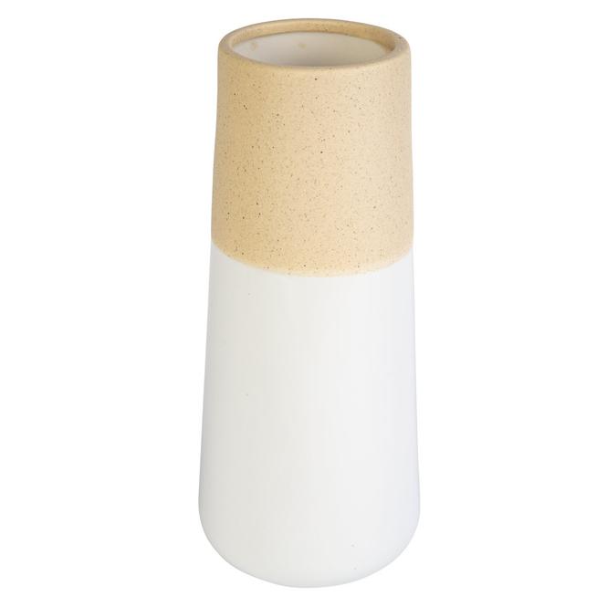 Vase - aus Keramik - ca. 10 x 10 x 23,5 cm